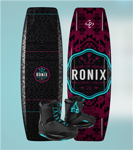 2020 Ronix Quarter Til Midnight w Signature Wake