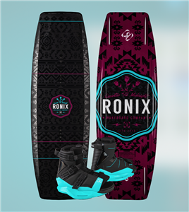 2020 Ronix Quarter Til Midnight w Halo Wakeboard