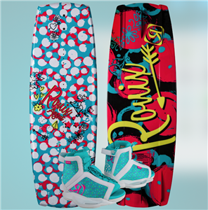 2020 Ronix August w August Wakeboard Package