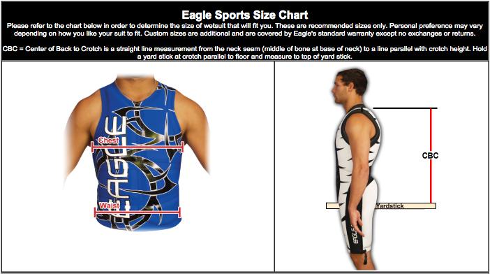 Eagle Size Chart 1