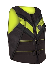 Liquid Force RUSH CGA Life Vest Black/Lime 2021