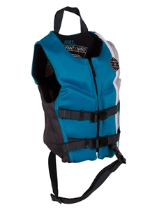 Liquid Force FURY Child CGA Life Vest Blue/Grey 2021