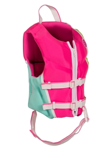 Liquid Force DREAM Child CGA Life Vest Pink/Mint 2021