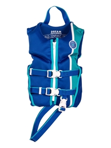 Liquid Force DREAM Child CGA Life Vest Navy/Aqua 2021