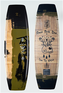 2021 Ronix Top Notch Pro Park Wakeboard