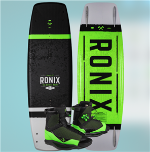 2020 Ronix District w District Wakeboard Package
