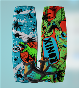 2020 Ronix Vision w Vision Wakeboard Package