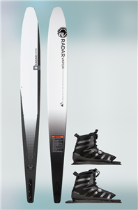 2021 Radar Lithium Vapor w/ Double BOA Vector Waterski Package
