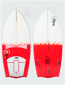 2021 Ronix Women's Flyweight Bat Tail Thruster Wakesurf Board