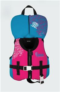 2021 Ronix August Girl's CGA Life Vest Infant/Toddler (Up to 30lbs)