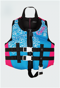 2021 Ronix August Girl's CGA Life Vest Child (30-50lbs)