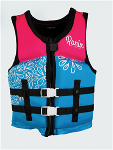 2021 Ronix August Girl's CGA Life Vest Youth (50-90lbs)