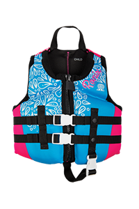 Ronix August Girl's - CGA Life Vest Child (30-50lbs) 2019