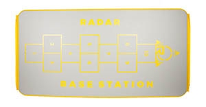 2019 Radar Skis Base Station Drop Stitch Mat Silv