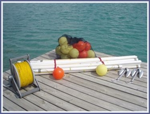 Insta Slalom 6 Buoy Slalom Course Package With Po