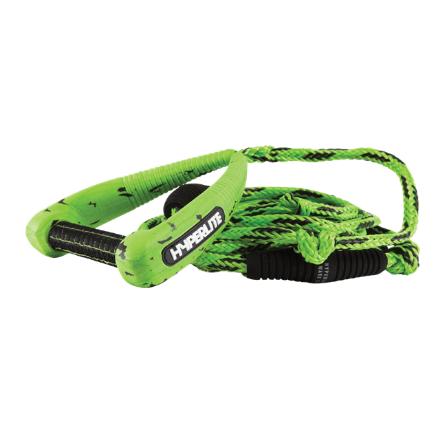 2021 Hyperlite 25' Pro Surf Rope w/ Handle Green