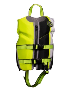 Liquid Force FURY Child CGA Life Vest Black/Green 2021