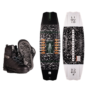 Liquid Force Rhyme Wakeboard and Classic 6X Bindings Package 2021