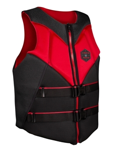 Liquid Force RUSH CGA Life Vest Black/Red 2021
