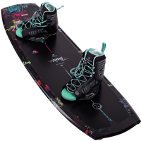 Hyperlite Venice Wakeboard and Jinx Bindings Package 2021
