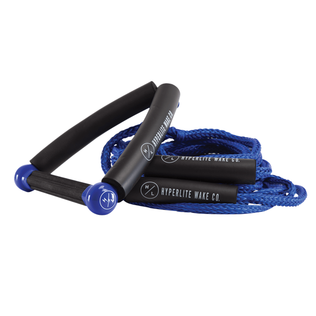 2021 Hyperlite 25' Surf Rope w/ Handle- Blue