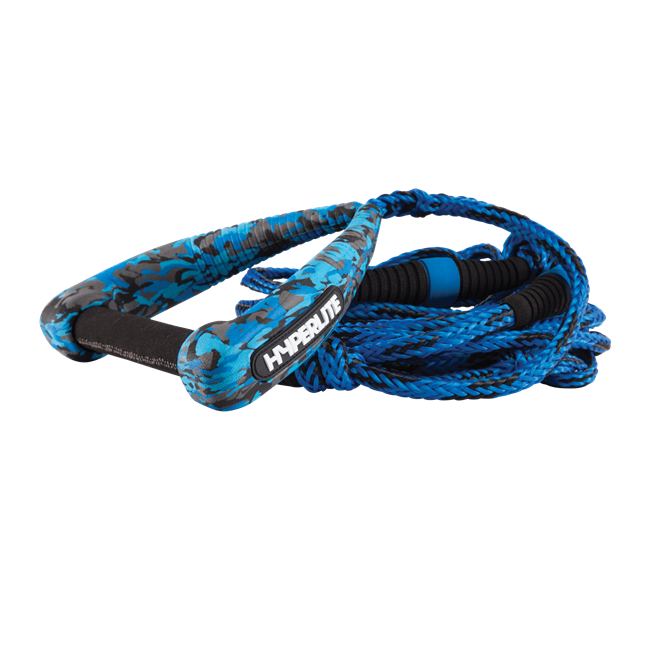 2021 Hyperlite 25' Riot Surf Rope w/ Handle Blue