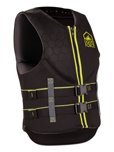 Liquid Force HINGE Classic CGA Life Vest Black/Green