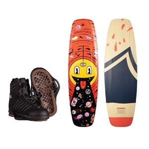 Liquid Force Tao Wakeboard and Tao 6X Bindings Package 2021