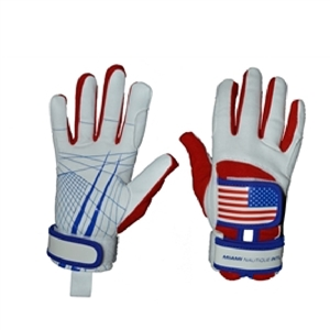 Miami Nautique Water Ski Thin Gloves in American