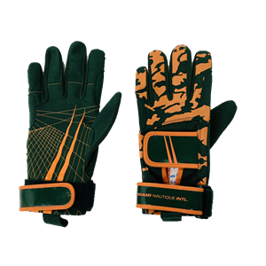 Miami Nautique Water Ski Thin Gloves Hunter