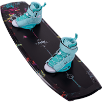 Hyperlite Venice Wakeboard and Viva Bindings Package 2021