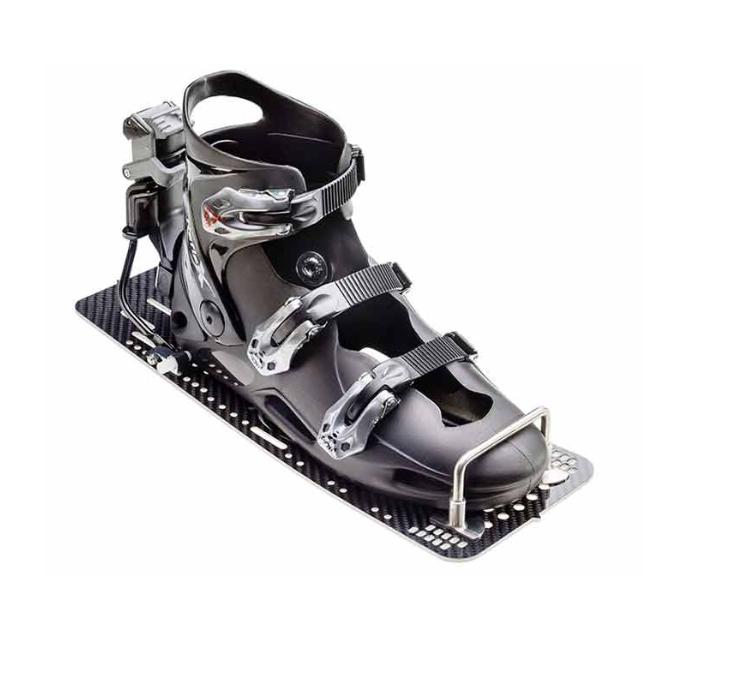 Reflex Rear Hardshell Binding W/ G10 Plate