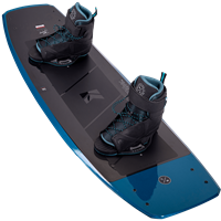Hyperlite Murray Wakeboard and Session Bindings Package 2021